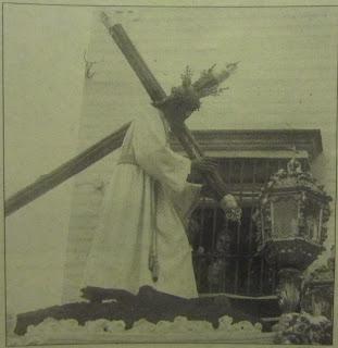 Jesús de la Pasión con túnica blanca