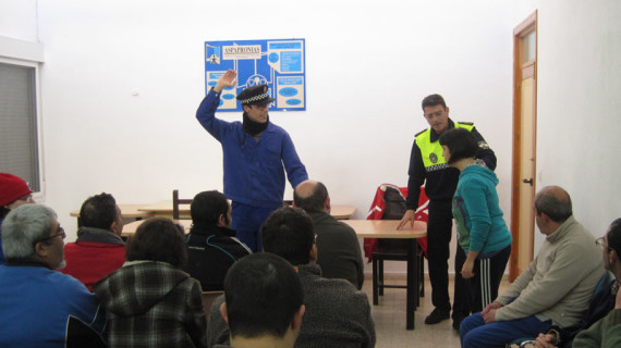 Campaña de educación vial en Aspapronias
