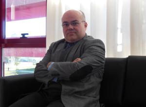 Jesús D. De la Rosa, Vicerrector de Investigación de la Universidad de Huelva