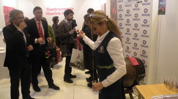 Los vinos y vinagres del Condado de Huelva viajan un año más a Madrid para participar en Fitur