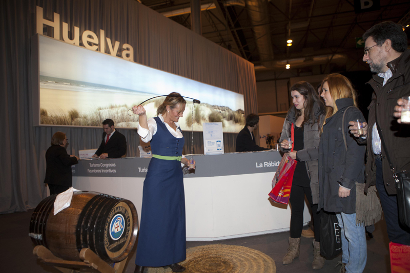 La Rábida marca la segunda jornada del stand de Huelva en la Feria Internacional de Turismo de Madrid 2013