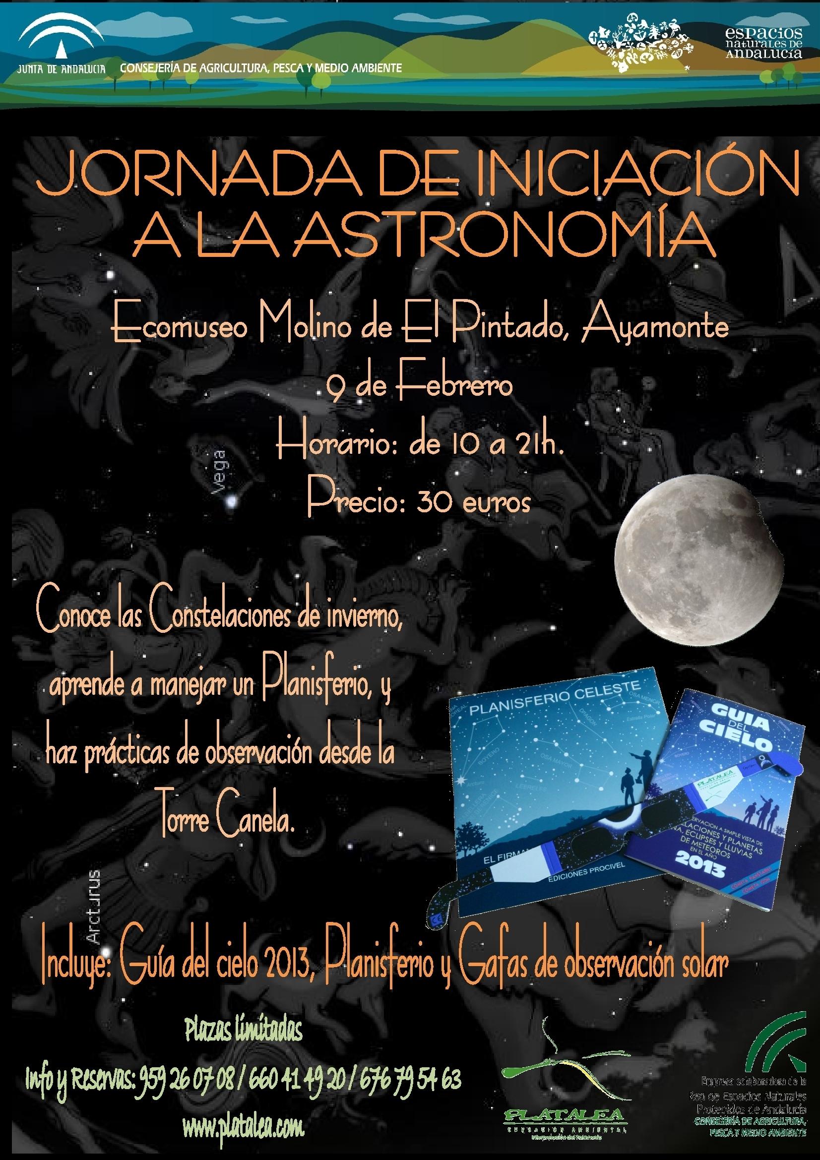 Cartel anunciador de la propuesta diseñada por los amantes de las estrellas.