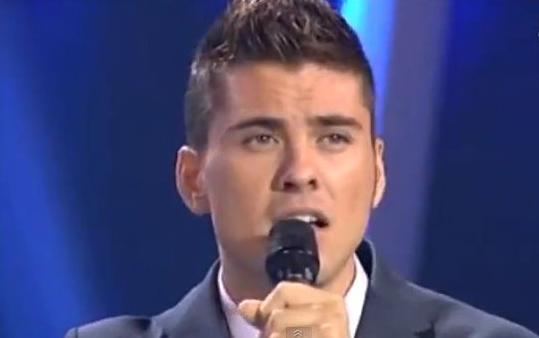 El cantante Álvaro Díaz.
