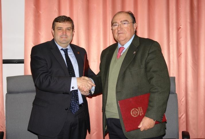 La Universidad de Huelva y el Banco de Alimentos firman líneas de colaboración