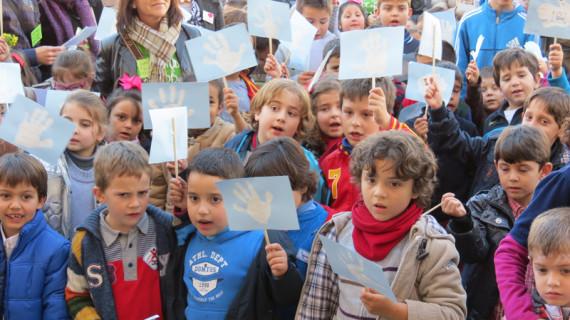 La provincia de Huelva se vuelca con la conmemoración del Día escolar de la Paz y la No Violencia