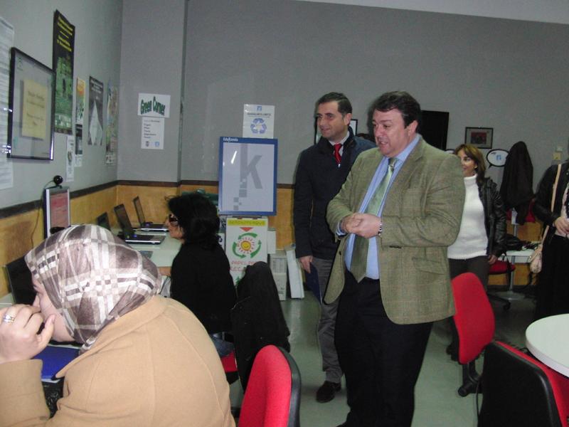 El delegado territorial de Economía, Innovación, Ciencia y Empleo, Eduardo Muñoz.