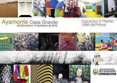 Premio Unia de Pintura en la Casa Grande de Ayamonte
