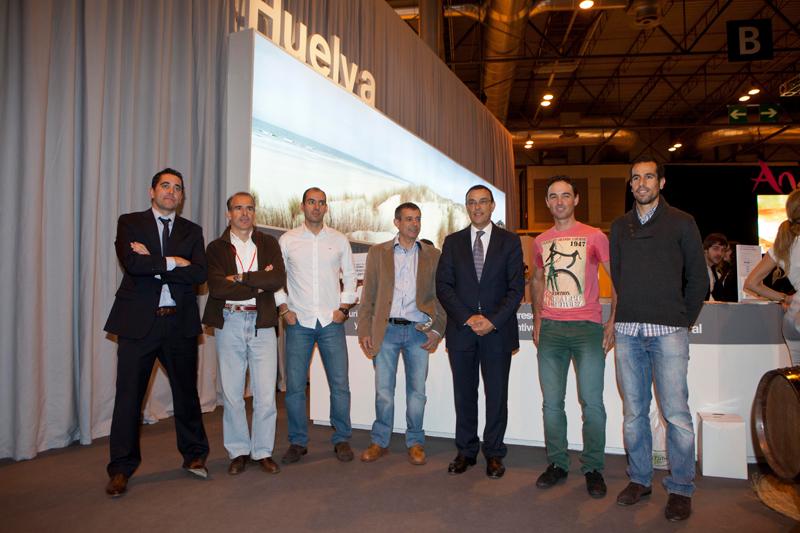 El stand de Huelva albergó la presentación del importante evento que se celebrará en Isla Cristina.