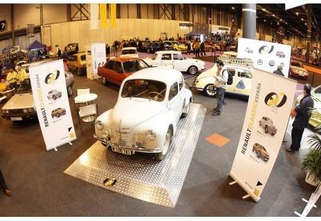 Renault se destaca por su 60 cumpleaños en España en la Classic Auto Madrid 2013