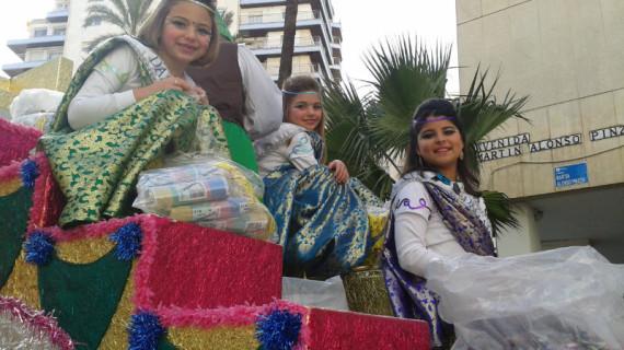 Huelva vibra con el Gran Desfile del Carnaval Colombino 2013