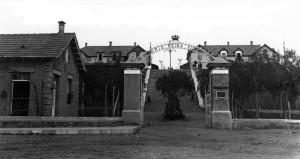 Antigua imagen de la Casa del Guarda en el Barrio Obrero.