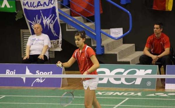 Carolina Marín participa desde el jueves hasta el domingo en la Axiata Cup que se disputa en Indonesia