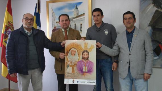Corrales ha presentado el cartel que anunciará la Semana Santa 2013