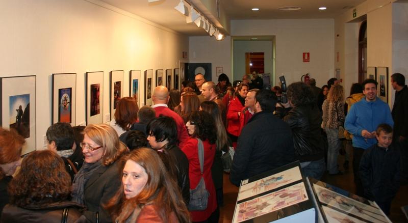 La exposición permanecerá abierta al público hasta el 2 de marzo en el hall del Teatro España de La Palma.