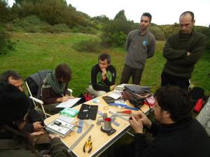 El Aula de Sostenibilidad de la UHU desarrolla un programa de anillamiento de aves