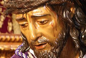 Nuestro Padre Jesús de las Penas en sus tres caídas / Foto: ValentínLópez