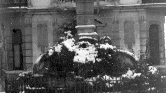 Recordando aquella nevada de 1954 en Huelva