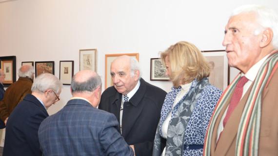 Más de 3.000 personas visitaron la exposición antológica de José María Franco en el Museo Provincial de Huelva