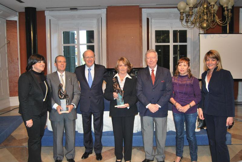 Imagen de la entrega del Premio Marismas en una edición anterior.