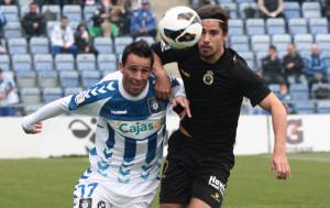 Arana se lesionó en el partido ante el Lugo y podría estar tres semanas de baja. / Foto: Josele Ruiz.