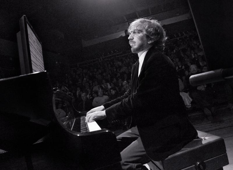 Rafael Prado, en uno de sus conciertos. / Foto: Víctor Ríos.