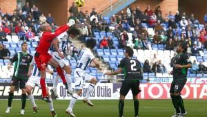 En la temporada 2010-11 el Elche sólo pudo empatar en el Nuevo Colombino.