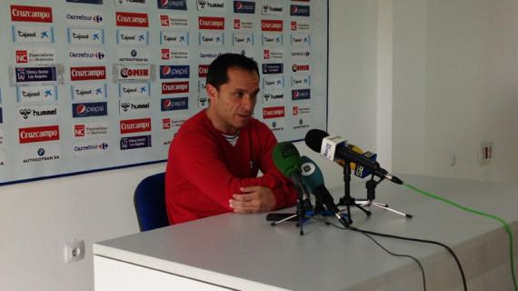 """Sergi Barjuan: """"Ha sido un triunfo importante que se ha logrado desde la paciencia"""""""