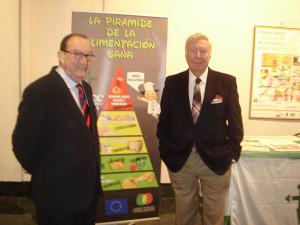 Presentación de la muestra en la sala de exposiciones de la Caja Rural del Sur.