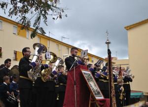 El tiempo permitió las actuaciones musicales en el barrio de Pérez Cubillas.