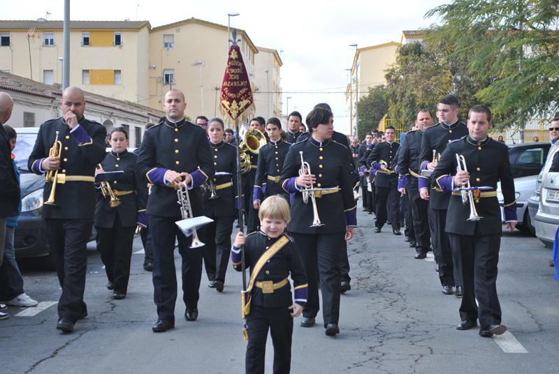 La Agrupación Musical Nuestro Padre Jesús Nazareno de Zalamea.
