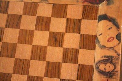 Una de las creaciones de la muestra 'Tocar madera'.