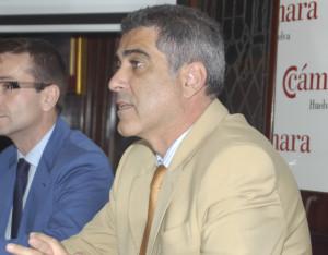 El director general de la Cámara de Comercio, Arsenio Martínez.