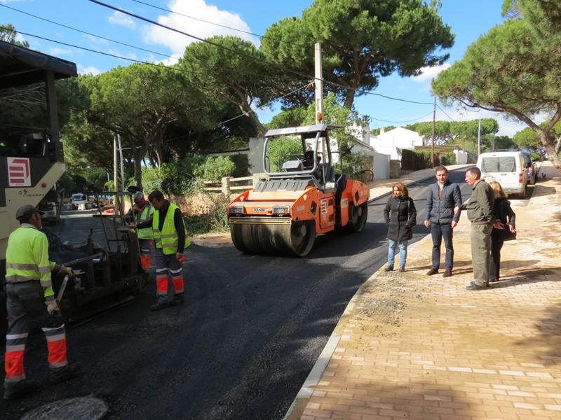 Los representantes municipales han realizado una visita a las obras de Ciparsa.