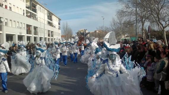 Unas 2.000 personas participan en la Gran Cabalgata del Carnaval de Isla Cristina