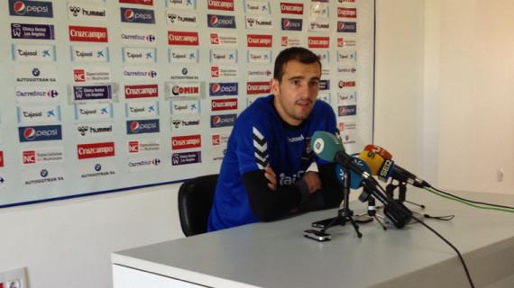 """Cabrero: """"Estoy contento con lo que hago, pero lo importante es que el equipo va bien"""""""