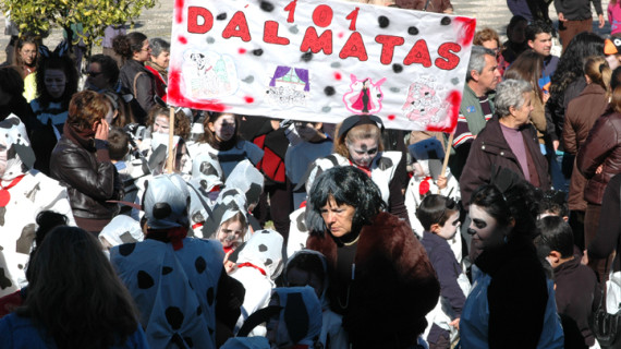 Rosal de la Frontera vive un multitudinario Carnaval infantil organizado por el colegio de la localidad