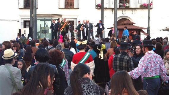 La popular 'Chochá' abre el sábado el carnaval de calle de Cartaya