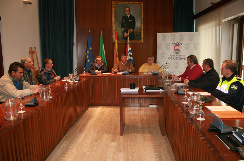 La Junta Local de Seguridad de Cartaya extremará las medidas en las próximas semanas.