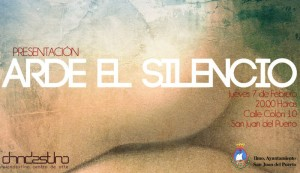 Cartel anunciador del evento cultural. / Foto: Juan Antonio Ruiz.