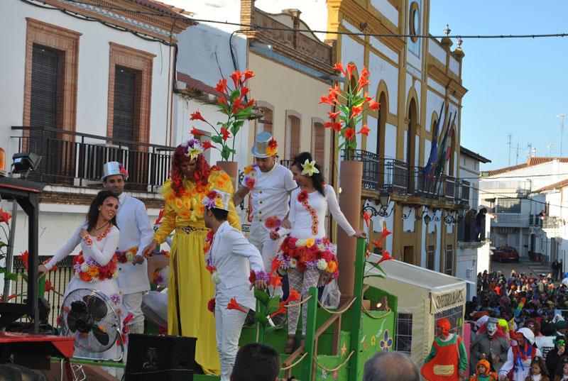 El pasacalles recorrerá las principales calles de la localidad. / Foto: José Miguel Jiménez.