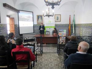 Presentación del proyecto a empresarios del Parque.