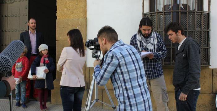 El sanjuanero Elías Pérez rueda en Córdoba su quinto cortometraje titulado 'Lo que nos jugamos'