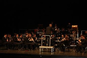 Banda de la Escuela Municipal de Música de Punta Umbría. / Foto: www.ayto-puntaumbria.es