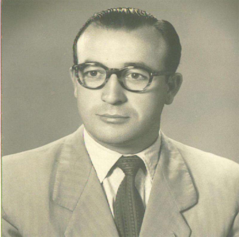 Fotografía del homenajeado, Santiago Rodríguez Díaz.