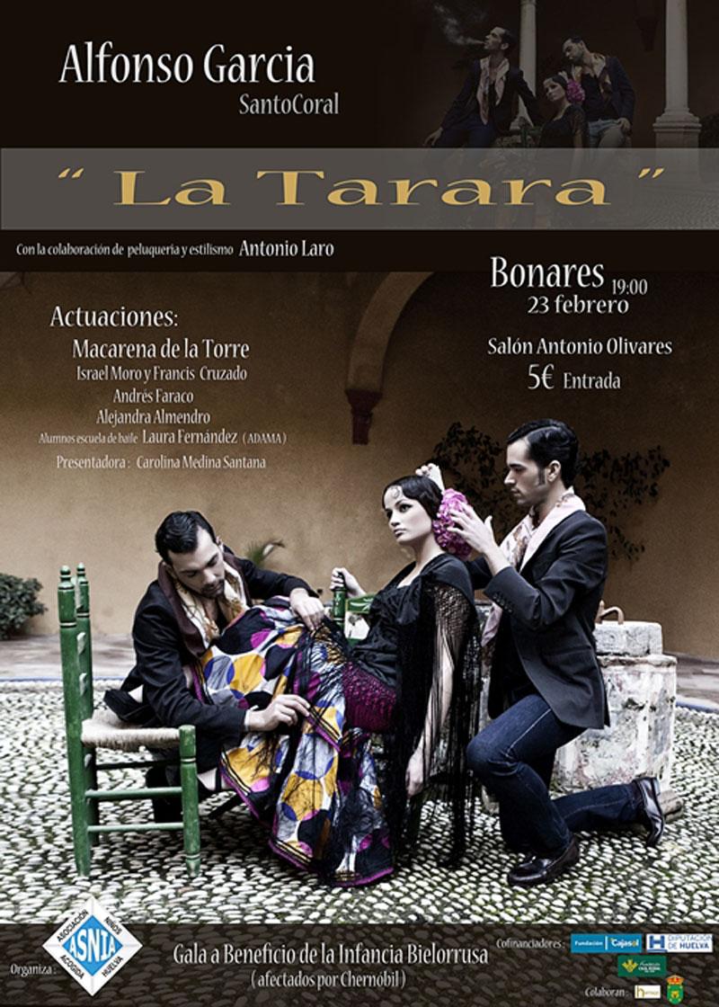 Imagen del cartel anunciador de la gala. / Foto: Fernando Camacho.