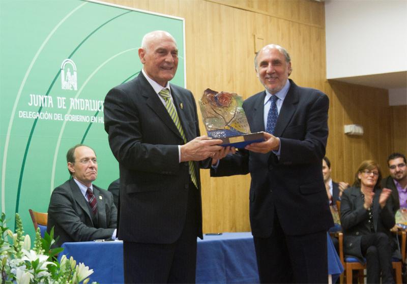 En 2011, Ildefonso Moreno recibió el Premio Huelva-Junta.