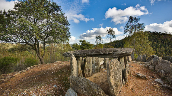 Dolmen de El Pozuelo del municipio onubense de Zalamea la Real / Foto: Flickr