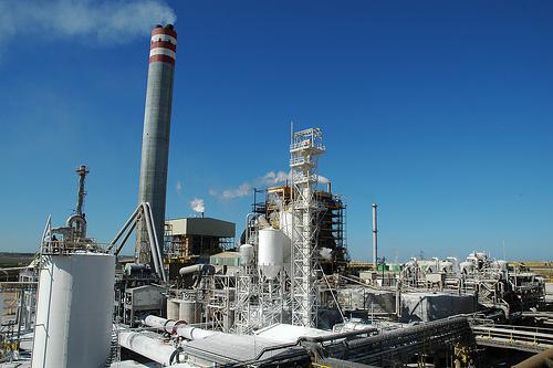 El Complejo Energético de Ence en Huelva ha iniciado su parada técnica anual.