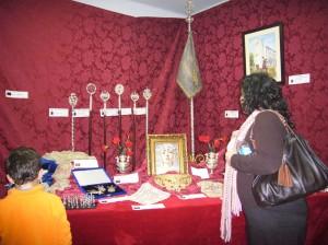 Exposición sobre Semana Santa en Las Teresianas.