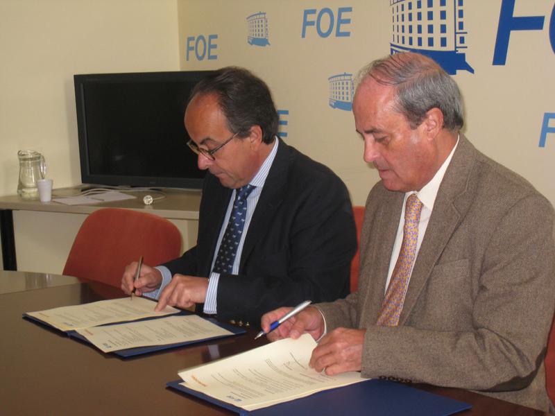 El acuerdo Foe-Bankinter supone un importante respaldo para la viabilidad y el futuro del sector empresarial de nuestra provincia.